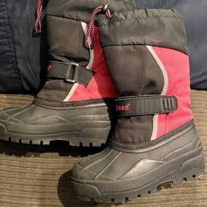 LL Bean Kids Northwoods Boots Size 13